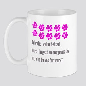 Kitty Brain Haiku Mug