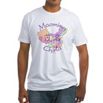 Maoming China Map Fitted T-Shirt
