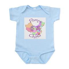 Panyu China Map Infant Bodysuit