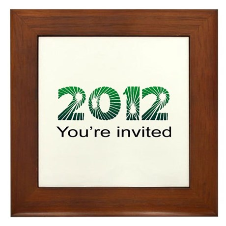 2012 Invited Framed Tile