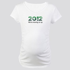 Moving On Up Maternity T-Shirt