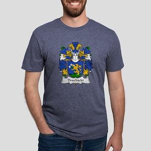 Druzbacki Family Crest White T-Shirt