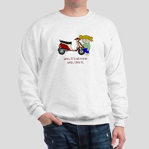 Scooter Girl Sweatshirt