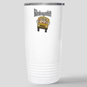 School Bus Kindergarten Stainless Steel Travel Mug