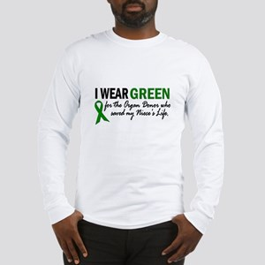 I Wear Green 2 (Niece's Life) Long Sleeve T-Shirt