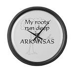 Arkansas Roots Large Wall Clock