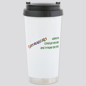 Genealogy Confusion (green) Stainless Steel Travel