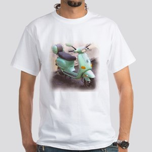Scooter Fun White T-Shirt