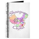 Shaoguan China Map Journal