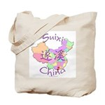 Suixi China Map Tote Bag