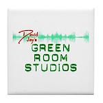 David Jay's Green Room Studio Tile Coaster