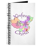 Xinfeng China Map Journal