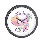 Xinhui China Map Wall Clock