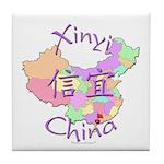 Xinyi China Map Tile Coaster