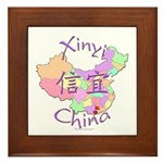 Xinyi China Map Framed Tile