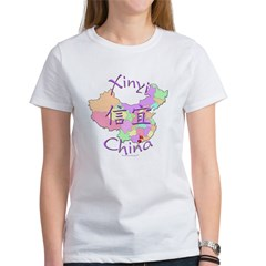 Xinyi China Map Women's T-Shirt