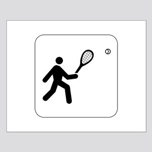 Tennis Icon Small Poster
