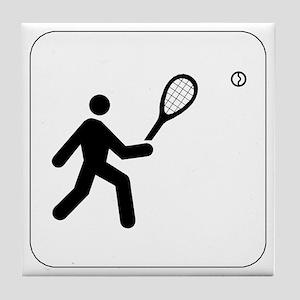 Tennis Icon Tile Coaster