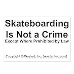 Skateboarding Postcards (Package of 8)