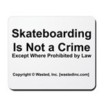 Skateboarding Mousepad