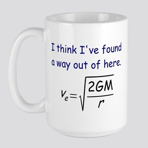 Escape Velocity Large Mug