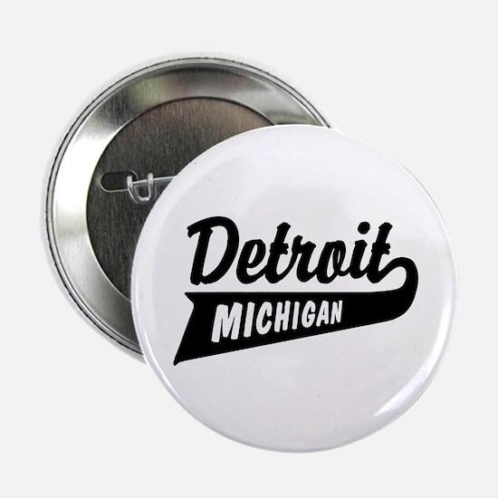 "Detroit Michigan 2.25"" Button"