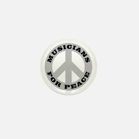 Musicians For Peace Mini Button