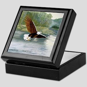 American Bald Eagle Flight Keepsake Box
