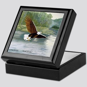 American Bald Eagle Flight Keepsake Box