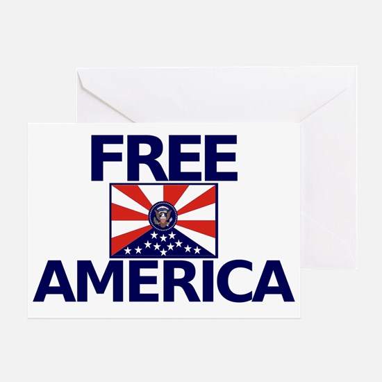 Free America Greeting Card