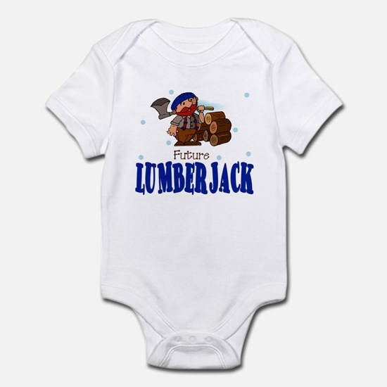 Future Lumberjack Baby Toddler Infant Bodysuit