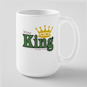 Wine King Large Mug