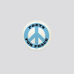Poets For Peace Mini Button