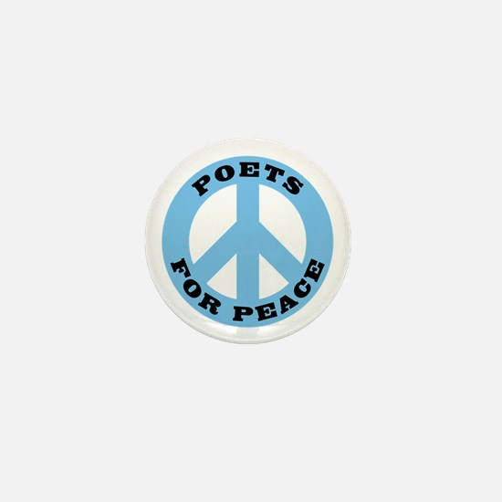 Poets For Peace Mini Button