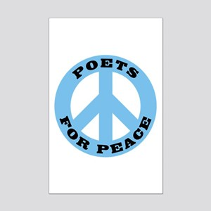 Poets For Peace Mini Poster Print