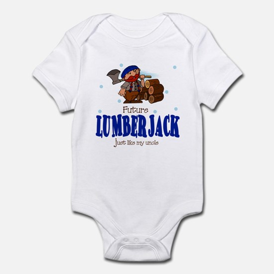 Future Lumberjack like Uncle Baby Infant Bodysuit