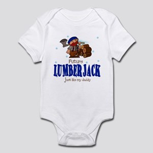 Future lumberjack like Daddy Baby Infant Bodysuit