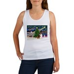 XmasMagic/Sheltie (7R) Women's Tank Top