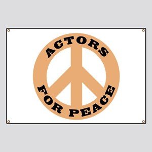 Actors For Peace Banner