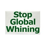 Stop Global Whining Rectangle Magnet