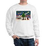 XmasMagic/3 Shelites (s) Sweatshirt