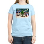 XmasMagic/3 Shelites (s) Women's Light T-Shirt