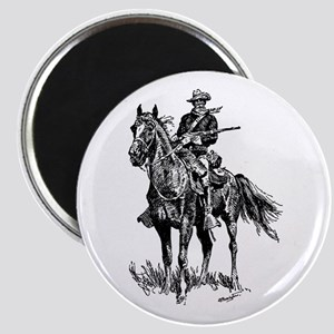 Old Bill Cavalry Mascot Magnet