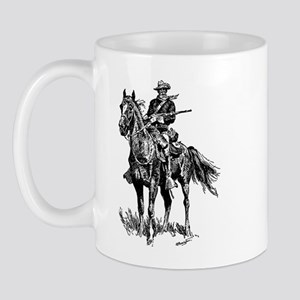 Old Bill Cavalry Mascot Mug