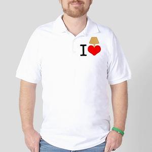 I Love Lamp Golf Shirt