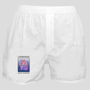 I Survived Heart Surgery! 2 Boxer Shorts