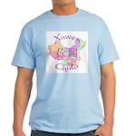 Xuwen China Map Light T-Shirt