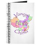Yangxi China Map Journal