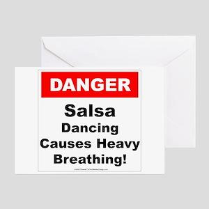 Danger Salsa Greeting Card