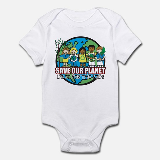 Save Our Planet Infant Bodysuit
